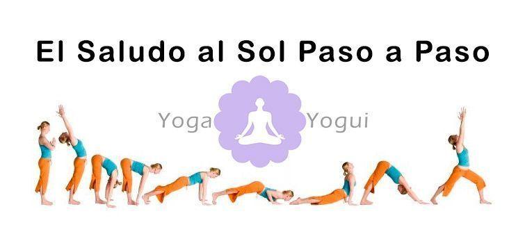 Saludo al sol de yoga paso a paso