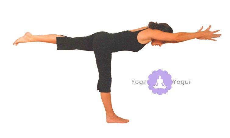 postura del guerrero 3 virabhadrasana iii yoga