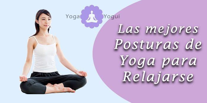 posturas de yoga para relajarse
