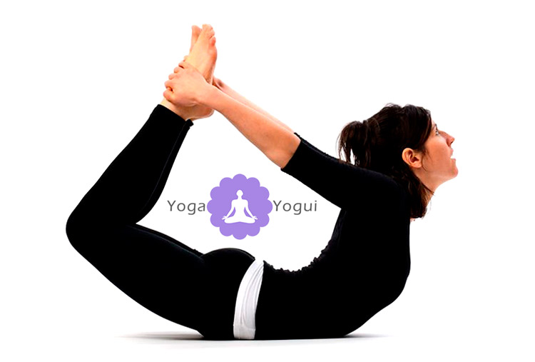 Dhanurasana o Postura del Arco en Yoga